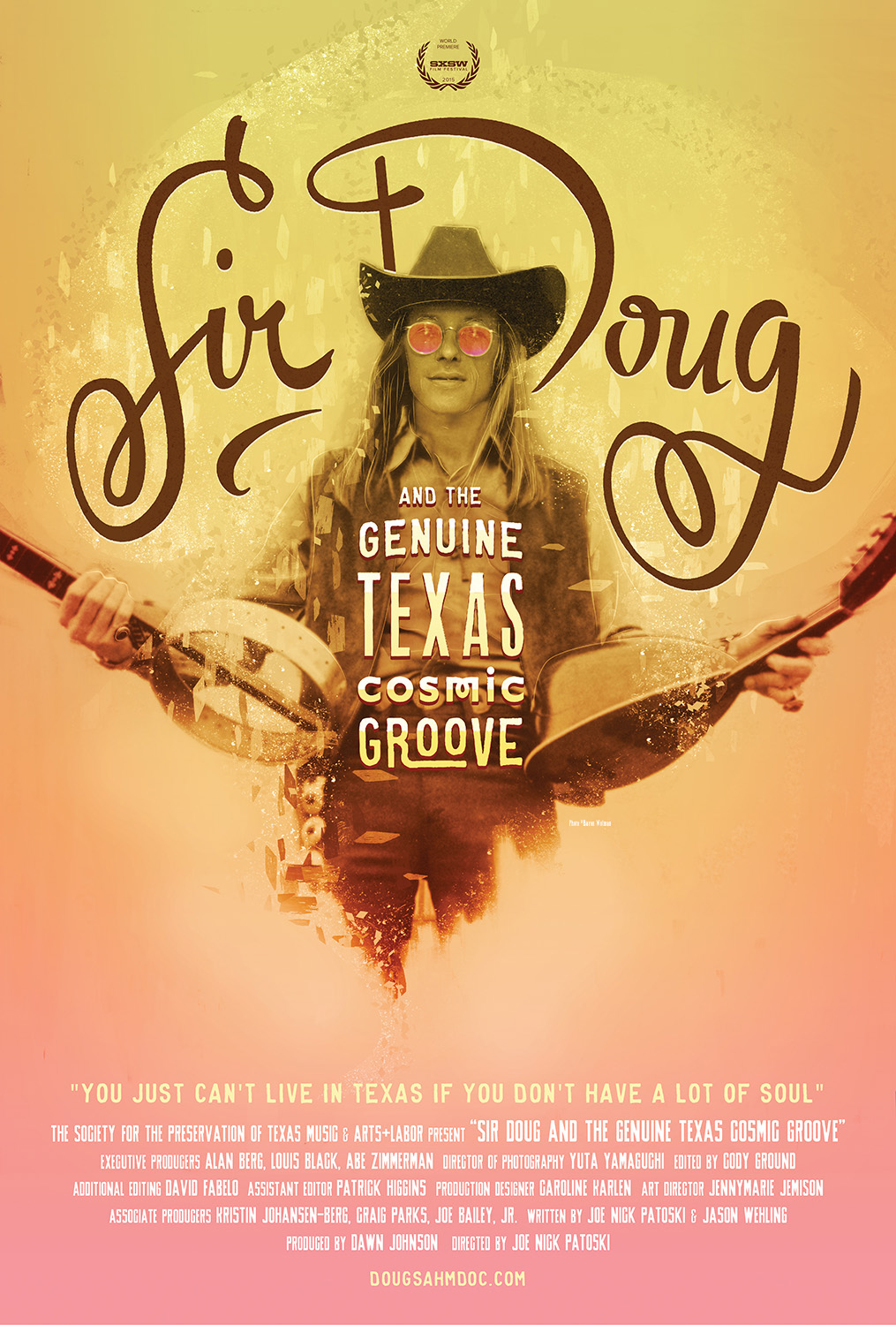 Poster for Sir Doug and the Genuine Texas Cosmic Groove