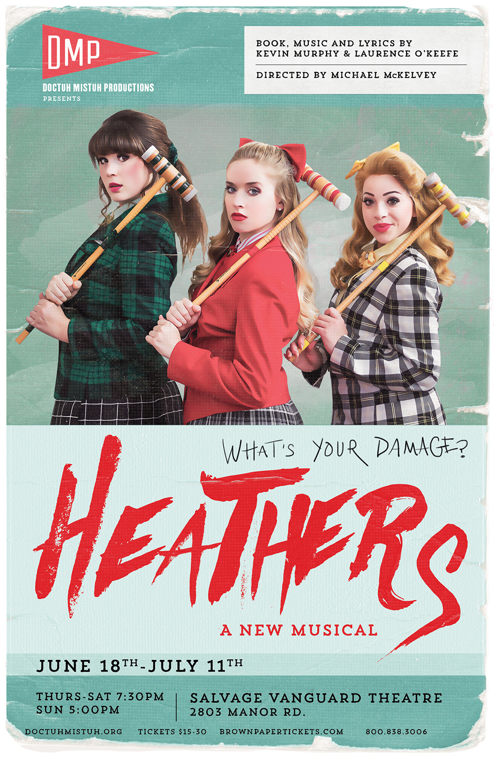 Heathers the Musical - Five and Four