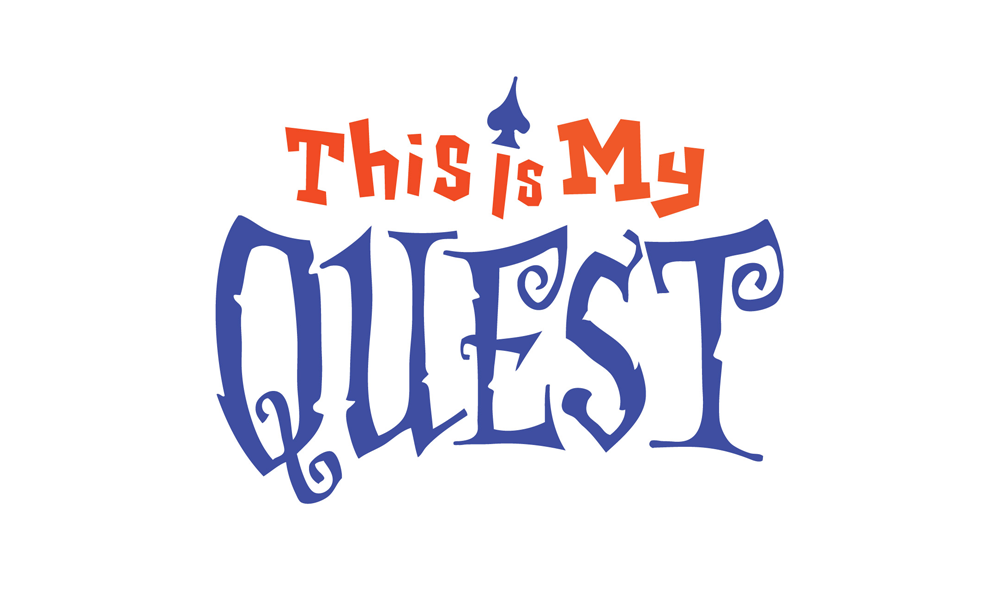 This is My Quest Logo by Five and Four
