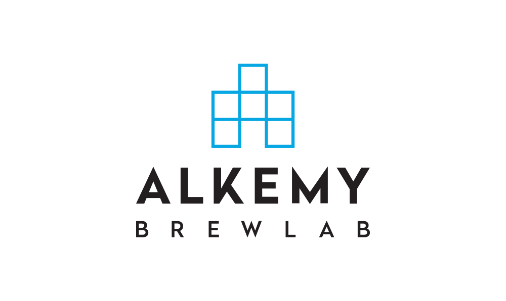 Alkemy BrewLab logo by Five and Four