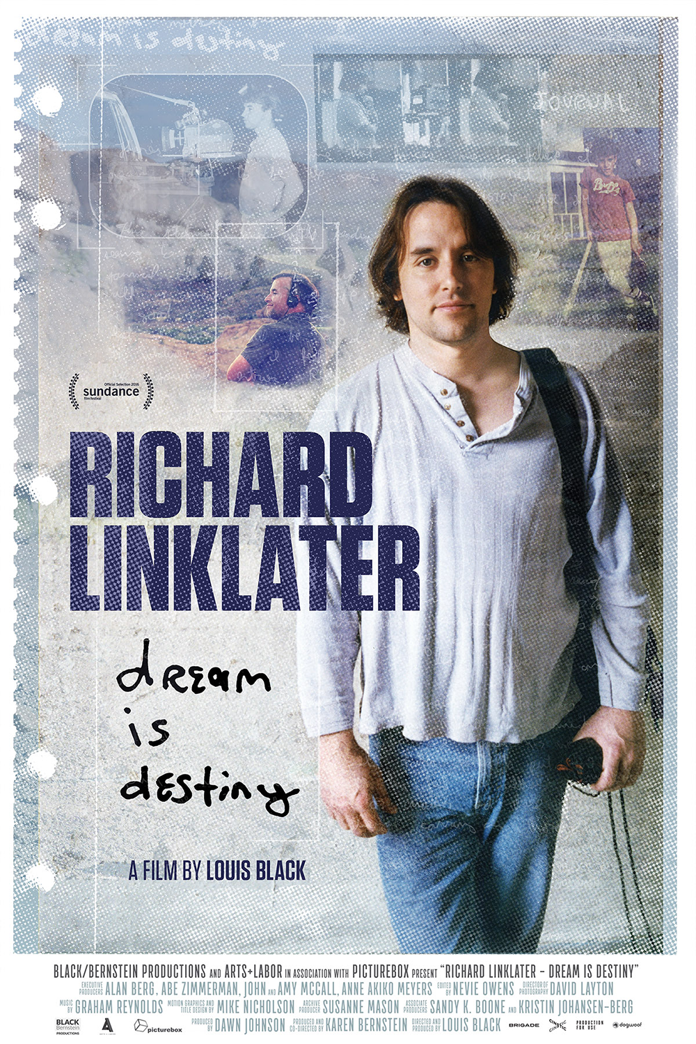 Richard Linklater Dream is Destiny Poster Design by Five and Four