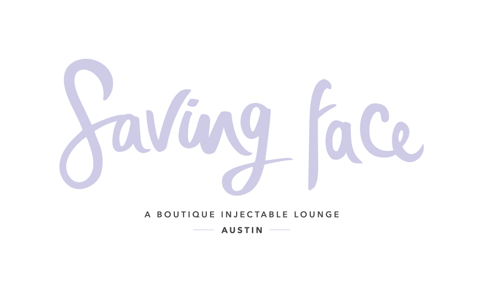 Saving Face Logo by Five and Four