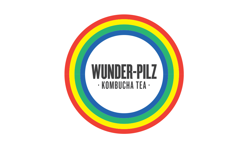 Wunder Pilz Kimbucha Logo by Five and Four