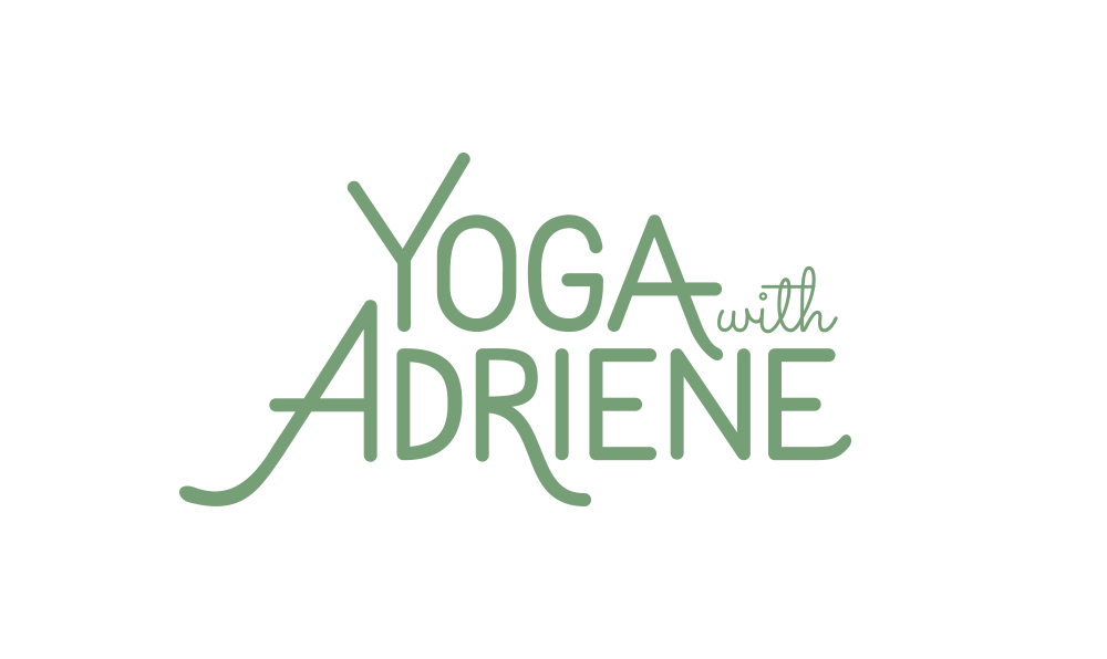 Yoga With Adriene logo by Five and Four