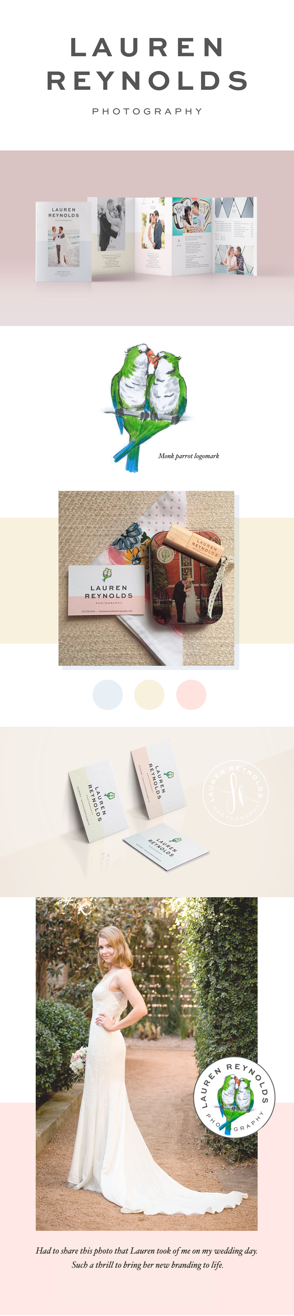 Lauren Reynolds Photography Branding by Five and Four
