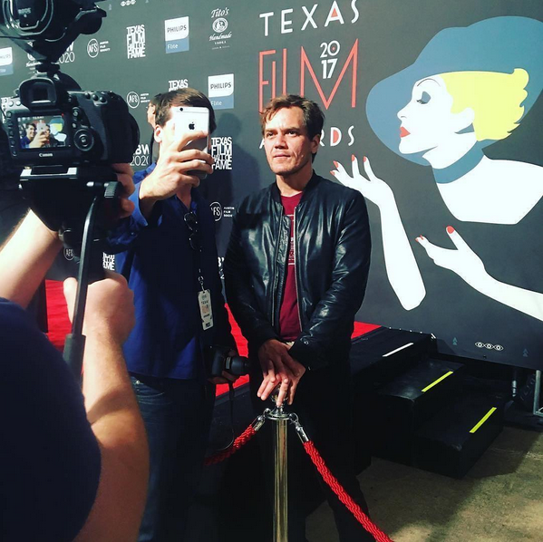 Michael Shannon Texas Film Awards 2017